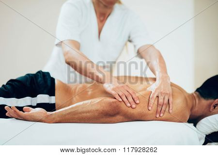 Sports Massage - Massaging Arms