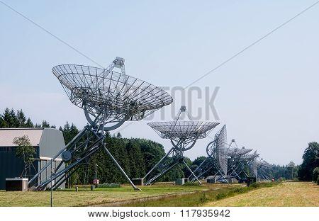 Synthesis Radio Telescope At Westerbork Netherland