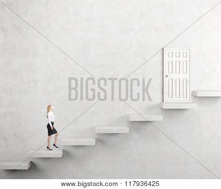 Climbing A Ladder Of Success