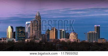 Charlotte, North Carolina Winter Sunrise