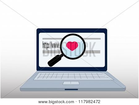 search for love on internet
