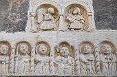 Close up of a marble statues. Rutigliano. Apulia. poster