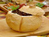 Filled loaf