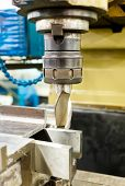 Photo of a Lathe CNC milling machine poster