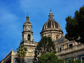 Cathedral in Catania Italy
