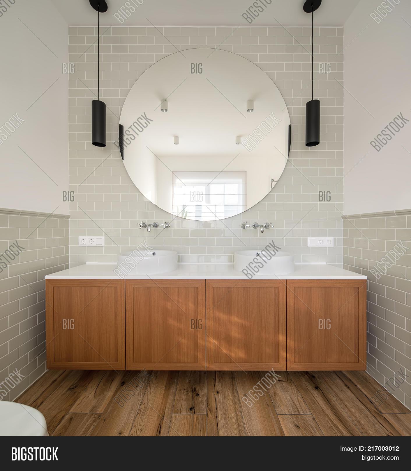 Bathroom Modern Style Image Photo Free Trial Bigstock