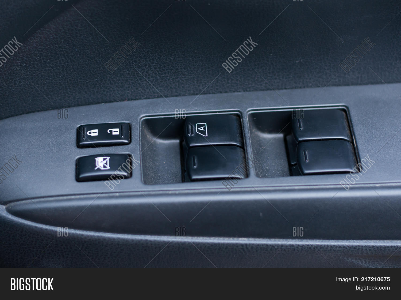 Car Door Lock Button Inside Car Door Interior Armrest With Window Control Panel Lock Button Door Interior Image Photo free Trial Bigstock