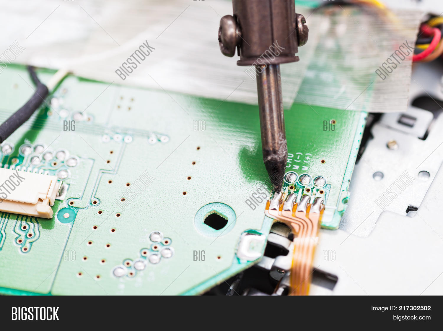Repairing Electric Circuit Board Image & Photo | Bigstock