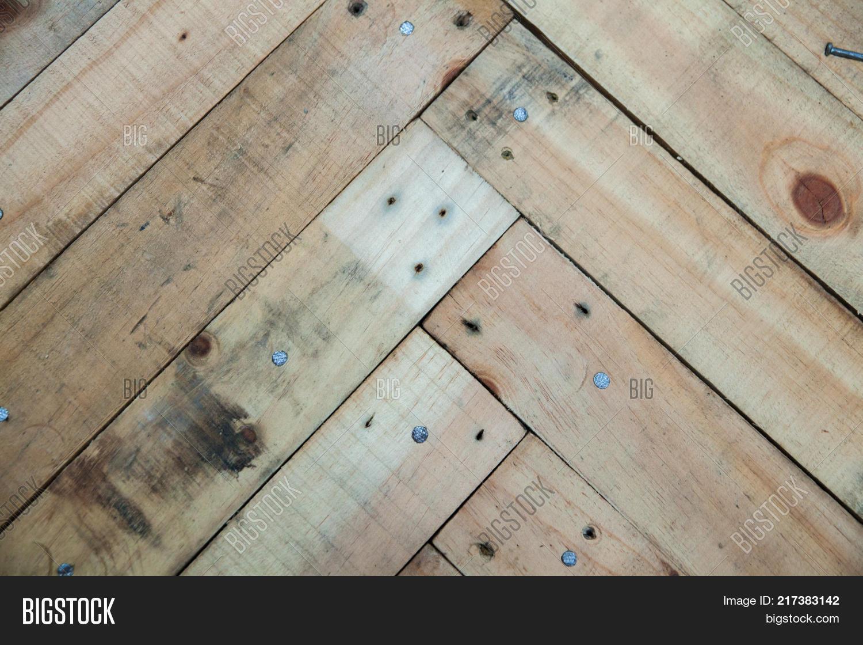 Fishbone Wood Texture Pallet Wooden Pattern