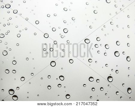 rain drops in the glass, rain drops pictures, original natural rain drop