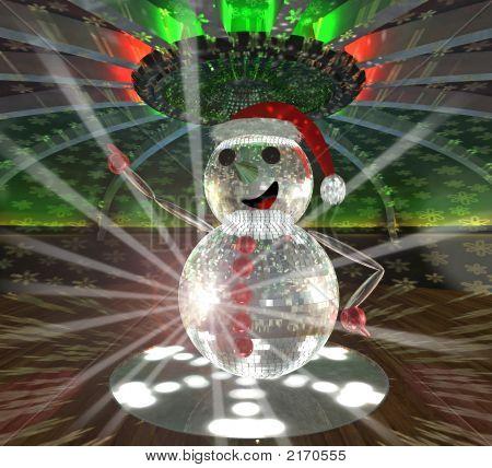 Snow Mirrorman