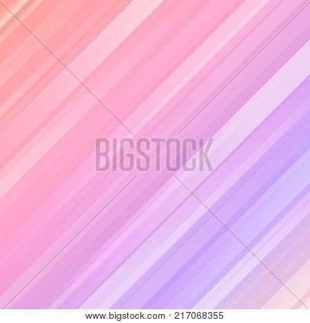 Light rays on abstract geometric colorful backdrop. Futuristic technology background. Shiny striped pattern on multicolor pink and ultraviolet abstract background. Aurora borealis vector illustration.