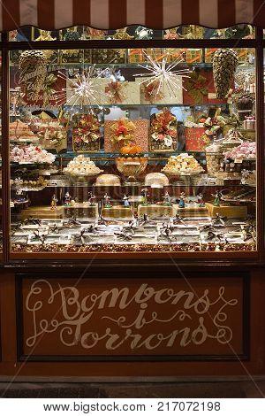 Mallorca Delicatessen Store Christmas