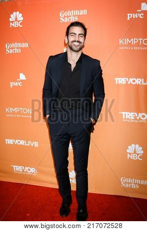 LOS ANGELES - DEC 3:  Nyle DiMarco at the 2017 TrevorLIVE Los Angeles at Beverly Hilton Hotel on December 3, 2017 in Beverly Hills, CA
