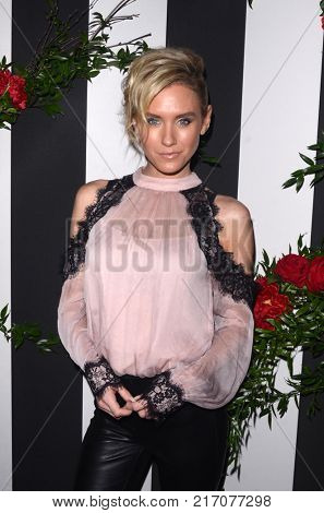 LOS ANGELES - NOV 30:  Nicky Whelan at the Land Of Distraction Launch Party at the Chateau Marmont on November 30, 2017 in West Hollywood, CA