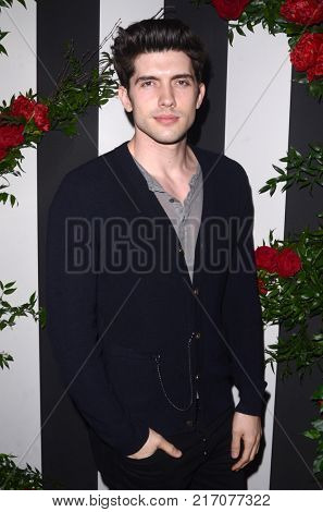 LOS ANGELES - NOV 30:  Carter Jenkins at the Land Of Distraction Launch Party at the Chateau Marmont on November 30, 2017 in West Hollywood, CA