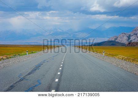 Road To Torugart Pass, Kyrgyzstan