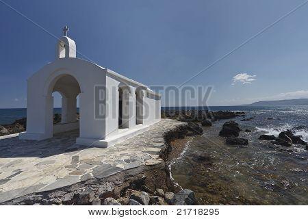 Church In Crete Island.