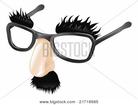 Funny Disguise Illustration