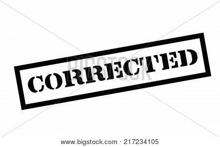 Corrected. Typographic stamp visualisation concept Original series.