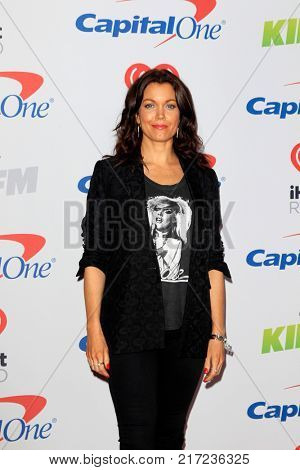 LOS ANGELES - DEC 2:  Bellamy Young at the Jingle Ball 2017 at the Forum on December 2, 2017 in Inglewood, CA