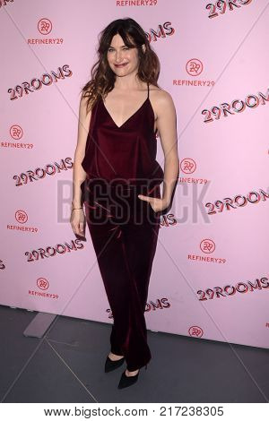 LOS ANGELES - DEC 6:  Kathryn Hahn at the 29Rooms West Coast Debut presented by Refinery29 at the ROW DTLA on December 6, 2017 in Los Angeles, CA