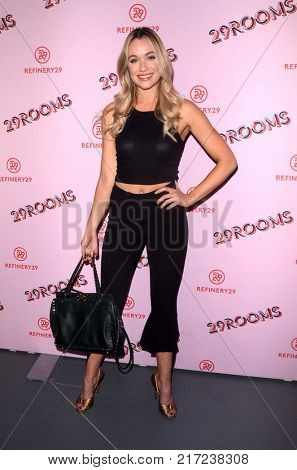LOS ANGELES - DEC 6:  Katrina Bowden at the 29Rooms West Coast Debut presented by Refinery29 at the ROW DTLA on December 6, 2017 in Los Angeles, CA