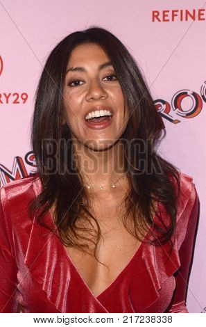 LOS ANGELES - DEC 6:  Stephanie Beatriz at the 29Rooms West Coast Debut presented by Refinery29 at the ROW DTLA on December 6, 2017 in Los Angeles, CA