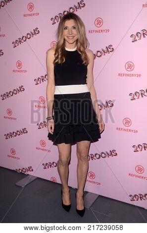 LOS ANGELES - DEC 6:  Sarah Chalke at the 29Rooms West Coast Debut presented by Refinery29 at the ROW DTLA on December 6, 2017 in Los Angeles, CA
