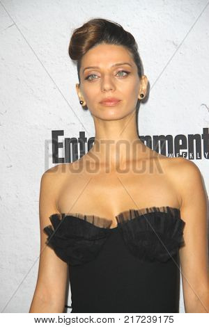 SAN DIEGO - July 22:  Angela Sarafyan at the Entertainment Weekly's Annual Comic-Con Party 2017 at the Float at Hard Rock Hotel San Diego on July 22, 2017 in San Diego, CA