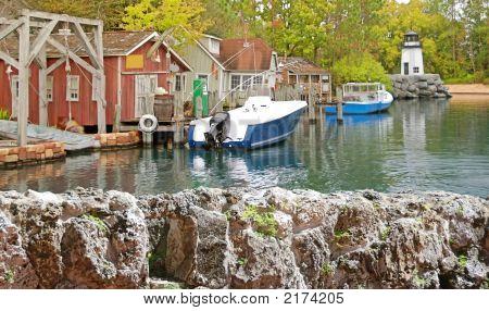 New England Fishing Village