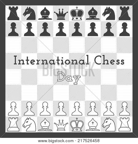 International Chess Vector & Photo (Free Trial) | Bigstock