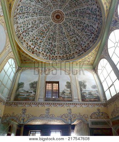 Istanbul Turkey July 30 2017:Harem in Historical Topkapi Palace