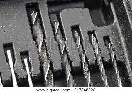 Electrical repair tools, drill bits and drill bits, drill bit set,