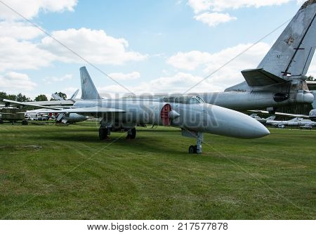 RUSSIA MOSCOW REGION MONINO - August 09 2017: Museum of the air force. La-250