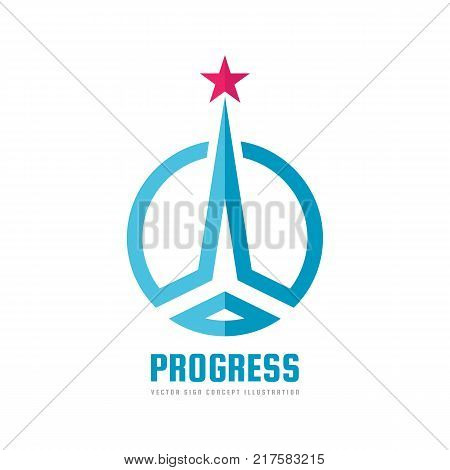 Progress Abstract Vector Photo Free Trial Bigstock