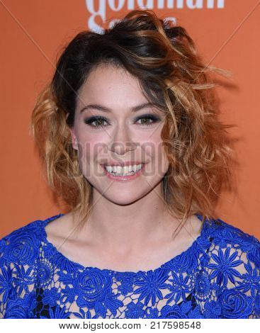 LOS ANGELES - DEC 03:  Tatiana Maslany arrives to the TrevorLive Los Angeles Gala on December 3, 2017 in Beverly Hills, CA