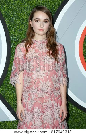 LOS ANGELES - DEC 7:  Kaitlyn Dever at the 2017 GQ Men of the Year at the Chateau Marmont on December 7, 2017 in West Hollywood, CA