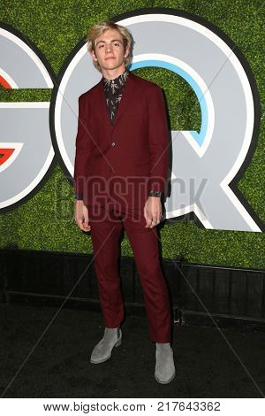 LOS ANGELES - DEC 7:  Ross Lynch at the 2017 GQ Men of the Year at the Chateau Marmont on December 7, 2017 in West Hollywood, CA