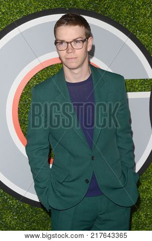 LOS ANGELES - DEC 7:  Will Poulter at the 2017 GQ Men of the Year at the Chateau Marmont on December 7, 2017 in West Hollywood, CA