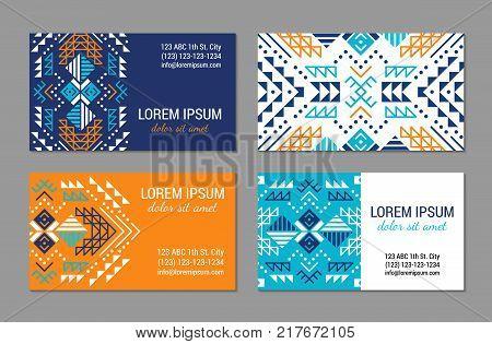 Tribal Ornament Card