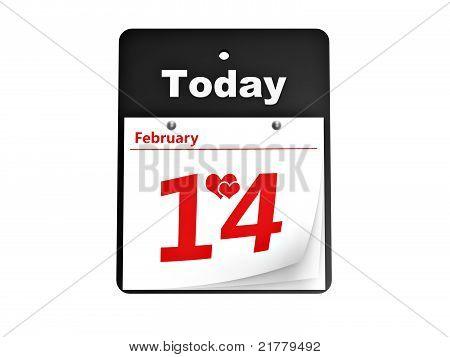 Tear-off Day Calendar