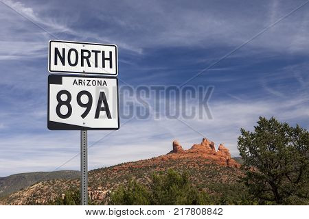 The state route maker for highway 89A in Arizona