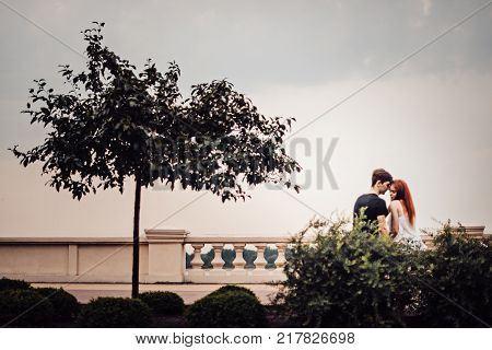 Love Story Of The Beautiful Young Man And Woman
