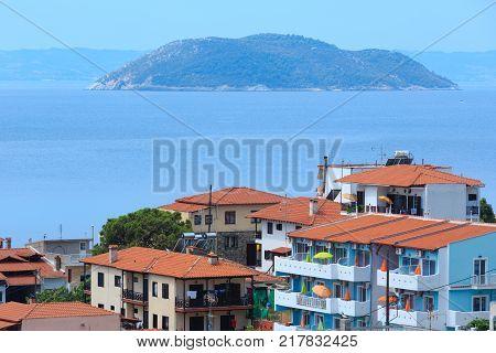 Summer Neos Marmaras Village (sithonia, Greece).