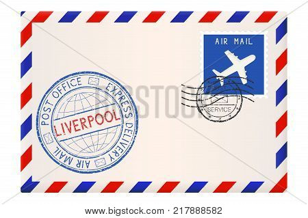 Envelope Liverpool Vector & Photo (Free Trial) | Bigstock