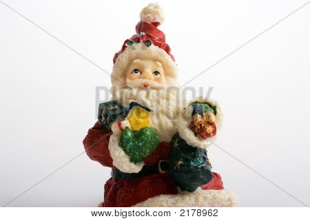 Santa Claus Figure In Ceramic