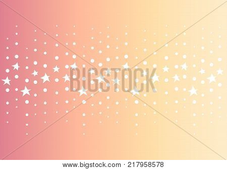 star dot line abstract background,  twinkle center line template, vector illustration