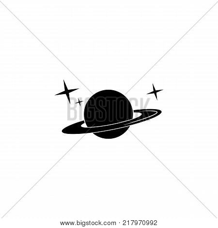 Saturn planet icon. Elements of space Icon. Premium quality graphic design. Signs symbols collection simple icon for websites web design mobile app on white background