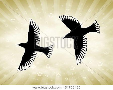 Golden Sun fåglar